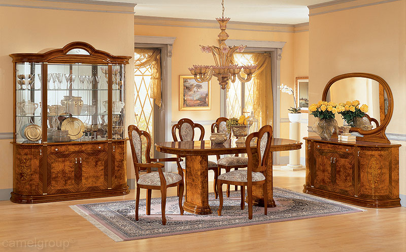 Walnut dining room furniture